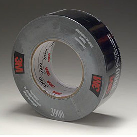 3m™ Duct Tape 3900 Black, 48 Mm X 54.8 M 7.7 Mil - Pkg Qty 24
