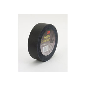 3M™ Cloth Gaffers Tape 6910 Black, 48mm x 54.8m 12.0 mil