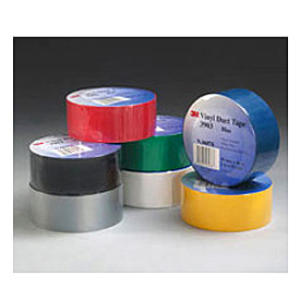 3m™ Vinyl Duct Tape 3903 White, 2 In X 50 Yd 6.3 Mil