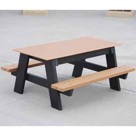 Kids Plastic/Recycled Plastic Picnic Tables