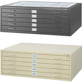 Safco® - 5 Drawer Steel Flat Files
