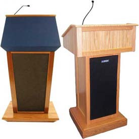 Custom Solid Hardwood Lecterns