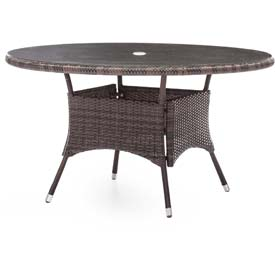 Outdoor Wicker & Synthetic Weave Tables