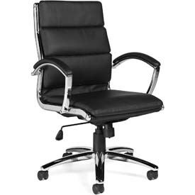 Global™ Leather/Luxhide Upholstered Chairs