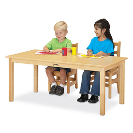 Jonti-Craft® Rectangular Multi-Purpose Tables