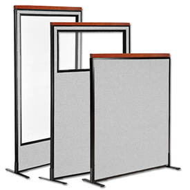 Interion™ Deluxe Freestanding Room Dividers
