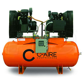 Duplex Air Compressors - 1 Phase