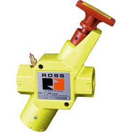 ROSS® 3-Way Pneumatic Lockout Valves