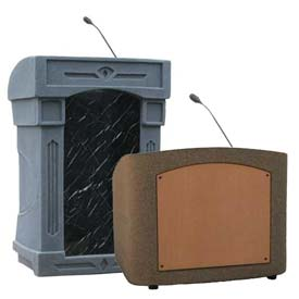 Summit™ Lecterns - Full Height & Tabletop Lecterns with Sound Options