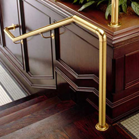 Brass Flush Railing Components