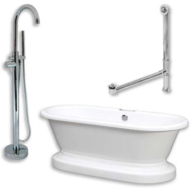 Cambridge Plumbing Bathtub & Faucet Sets