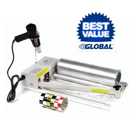 "Sealer Shrink Film with Sealer, Heat Gun& 500' Shrink Film Roll System for 18""W Film"
