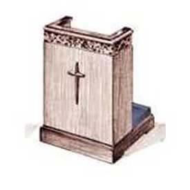 Imperial Woodworking Inc. 500 Series Prayer Desk