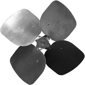 Four Wing Condenser Fan Blades With Fixed Hub