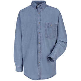 Red Kap® Wrangler Denim Shirts