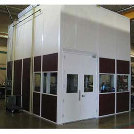 Ebtech Prefabricated Modular Inplant Offices – Vinyl Clad, Class C Fire & 28 STC Rated