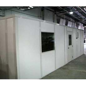 Ebtech Prefabricated Modular Inplant Offices – Premier Vinyl Clad, Class A Fire & 32 STC Rated