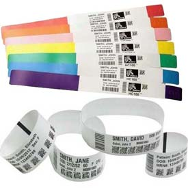 ZEBRA Z-Band Healthcare Wristbands