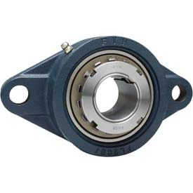 FYH Heavy Duty Two-Bolt Flange Mounted Ball Bearings W/Adapter Sleeves