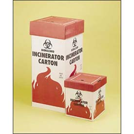 Biohazard Incinerator Cartons