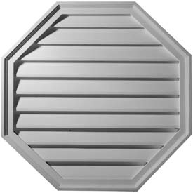 Ekena Gable Vents & Louvers - Octagon, Peaked, Triangle & Vertical