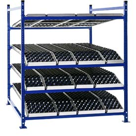 Presentation Flow Cell Rack with Wheel Track