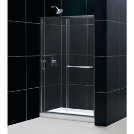 Dreamline™ Shower Door, Base & Wall Kit