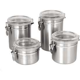 Storage Canisters - Stainless Steel