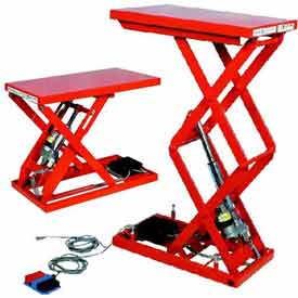 Light Duty Powered Scissor Lift Tables - up to 1500 Lb. Capacity
