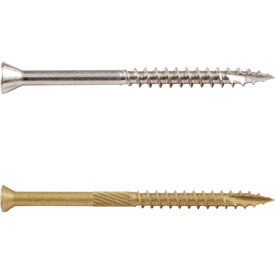 Trim Head Star Drive Wood Screws