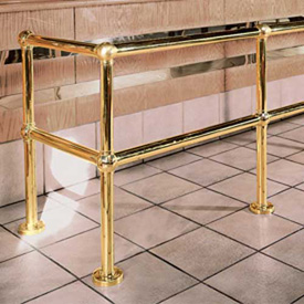 Brass Ball Railing Components