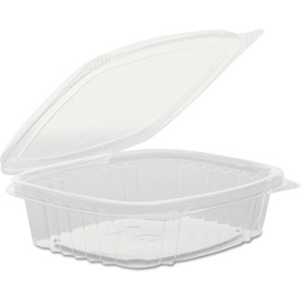 Hinged Lid Plastic Containers