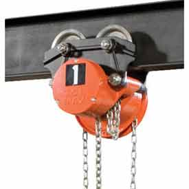 CM® Columbus McKinnon Cyclone Low Headroom Hoist Trolley Combos