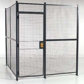 RapidWire™ Welded Wire Partition Rooms - Preconfigured