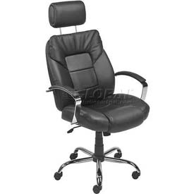 Interion® - Big & Tall Bonded Leather Executive Chair