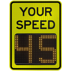 Tapco® BlinkerRadar™ Radar Feedback Signs