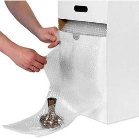 Adhesive/Cohesive Bubble Rolls With Self Dispensing Carton