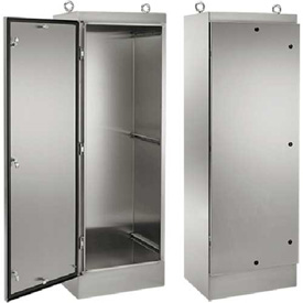 Hoffman Floor-Mount and Free-Stand Enclosures