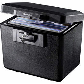 Lockable Fire and Waterproof Document Chests