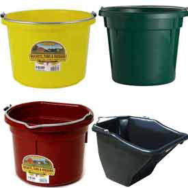 Animal Feed Buckets