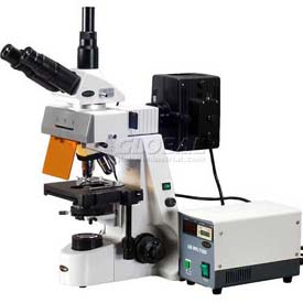AmScope Fluorescence Microscopes - High Power