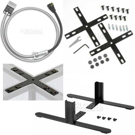 Interion™ Cubicle Partition Connectors and Accessories