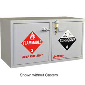 SciMatCo Metal-Free Plywood Mobile Acid Corrosive Cabinets