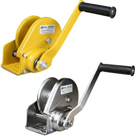 OZ Lifting Hand Winches with Brake
