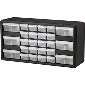Akro-Mils® Plastic Frame With Clear Drawer Parts Cabinets