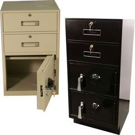 Fenco Teller Pedestal Safe Cabinet Units