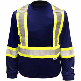 ANSI Class 1 - Hi-Visibility Long Sleeve Shirts