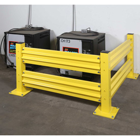 Schmidt® WorkSafe™ QuickShip Barrier Rail