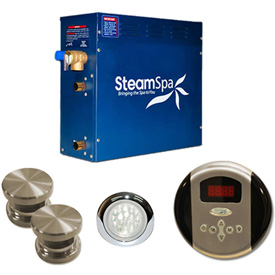 SteamSpa Steam Generator Packages