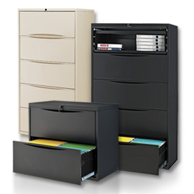 Lateral File Cabinets at Global Industrial